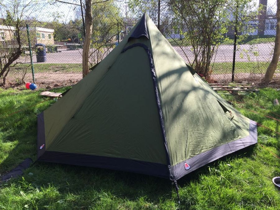 Robens Green Cone 4 man tent tested and reviewed