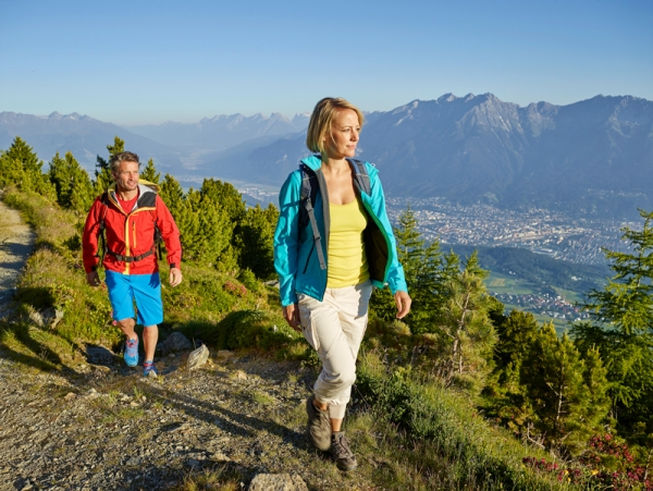 Walk the walk in stunning Innsbruck - for free