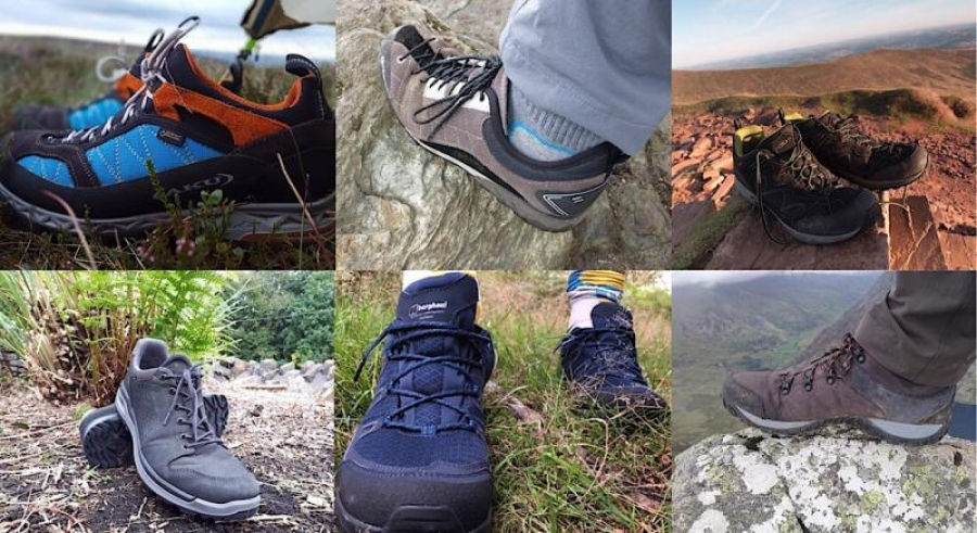 Hiking & Approach Shoe Group Test Results