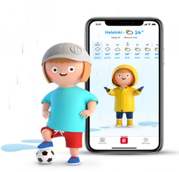 Reima Launches AI-Driven Weather App to Make Dressing Kids Easier