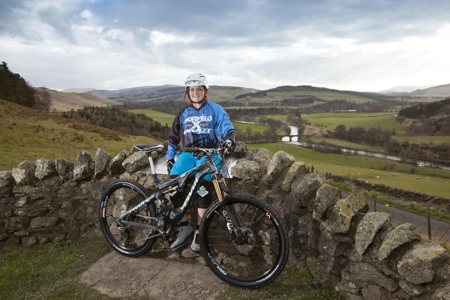 Catch up with pro mountain biker Katy Winton