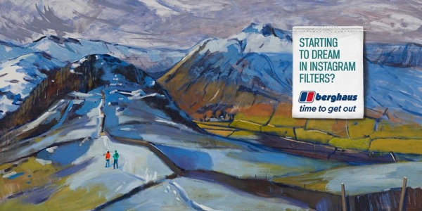 """""""Time to get out"""" - Multi million pound Berghaus campaign breaks today"""