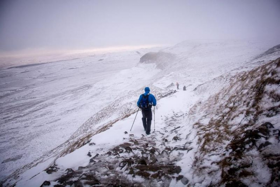 Records and temperatures tumble in the Spine Race