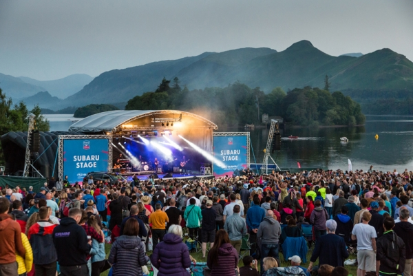Big Country head south of the border to headline the 2019 Keswick Mountain Festival
