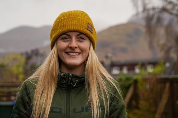 Elite mountain bike racer, Mikayla Parton, wins Youth Mountain Award