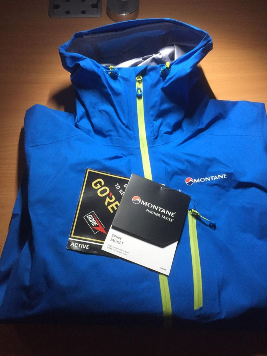 Montane Spine Jacket Tested and Reviewed