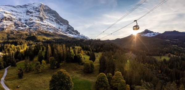 State-of-the art lift dramatically improves access to the Jungfrau Region's slopes
