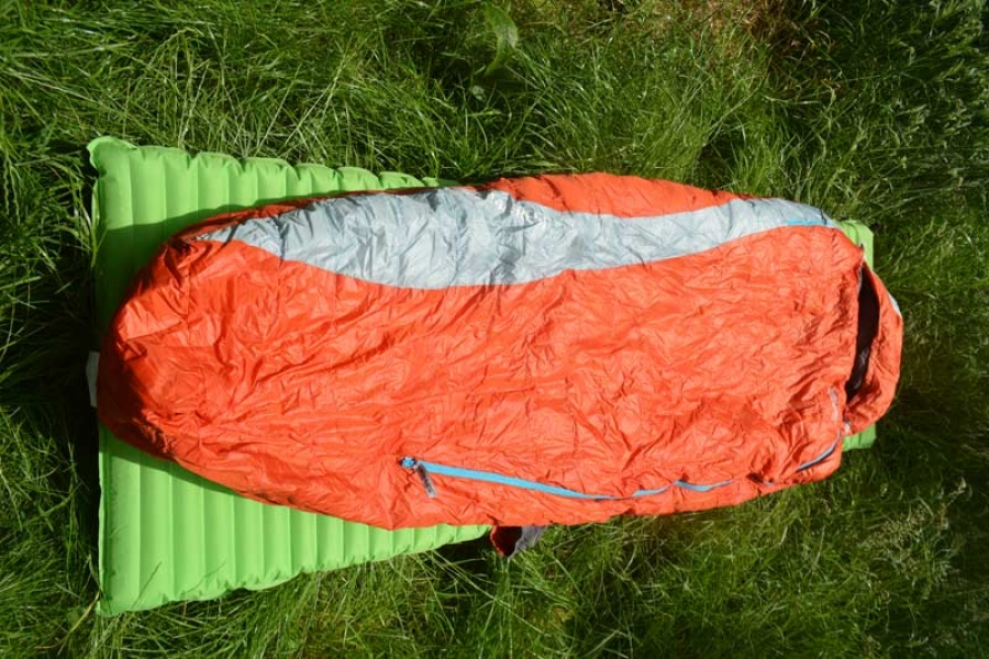 Thermarest Antares HD 3 season down sleeping bag tested and reviewed