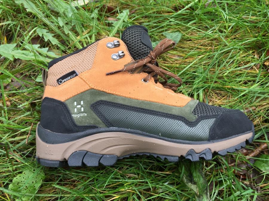 Haglofs Skuta Mid Proof Eco boot tested