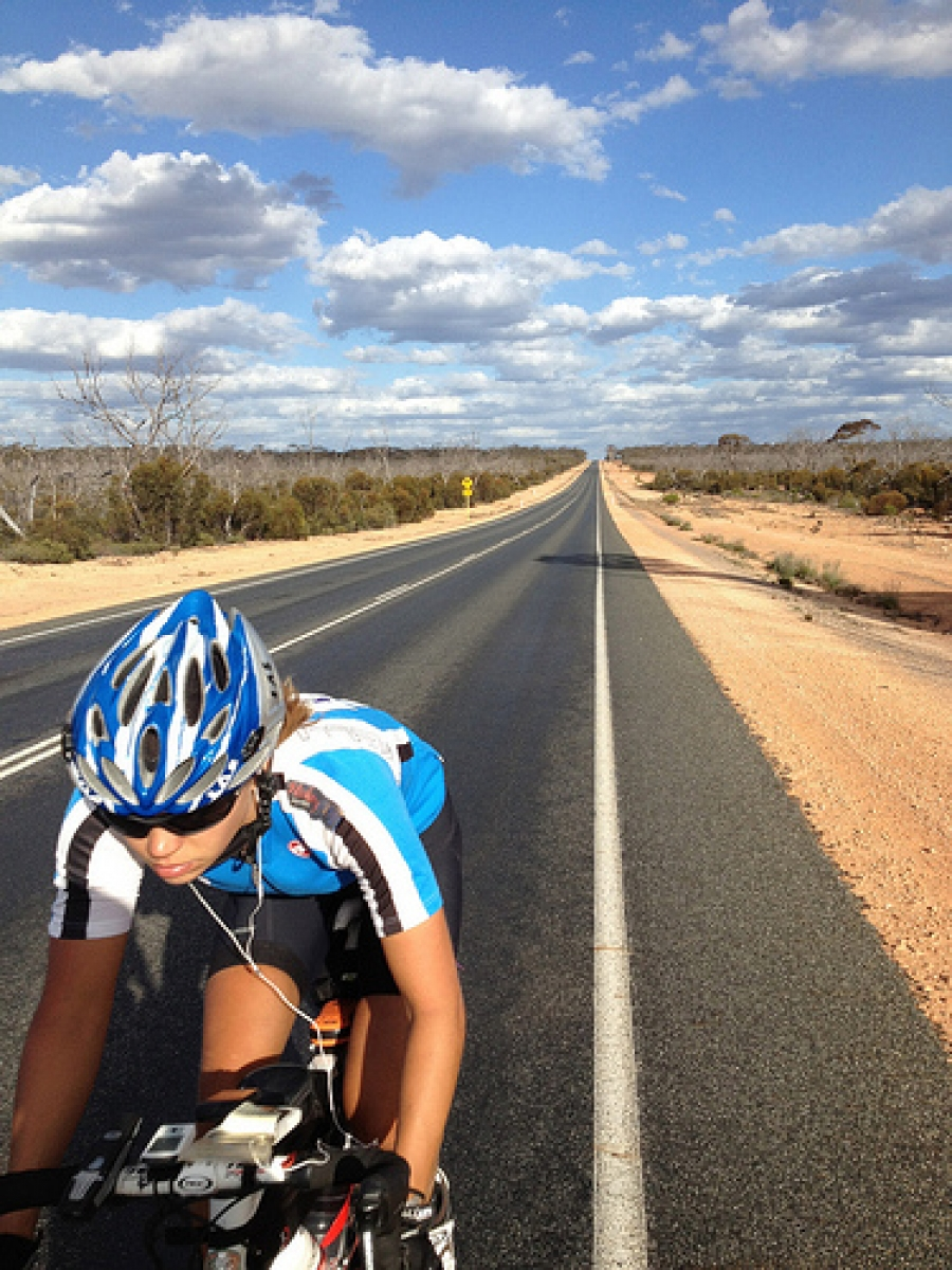 Q&A with amazing round-world cyclist