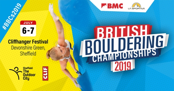 British Bouldering Championships in Sheffield this weekend. Live on BBC Sport.