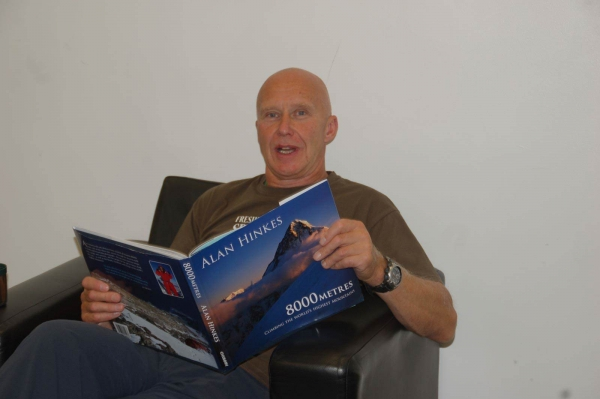 An evening with Alan Hinkes OBE – the first and only Briton to climb all 14 of the world's highest mountains.