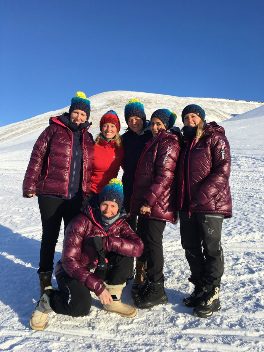 Berghaus teams up with women's polar expedition for product mission